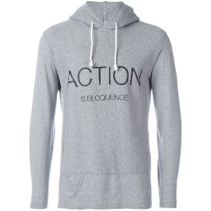 Ganryu Comme Des Garcons - Action Is Eloquence パーカー - men - コットン - S
