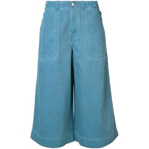Vivienne Westwood Anglomania - Denim Wave キュロット - women - コットン - 29