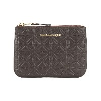 Comme Des Garçons Wallet - Classic Embossed A コインケース - unisex - カーフレザー - ワンサイズ