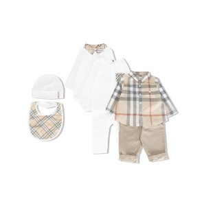 Burberry Kids - ギフト 6点セット - kids - コットン - 6カ月