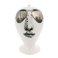 Fornasetti - Paris Tour 花瓶 - unisex - ceramic - ワンサイズ