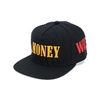 Palm Angels - Palm Money Weed 帽子 - women - ウール - ワンサイズ