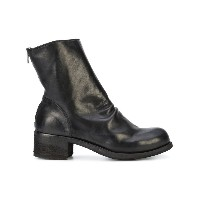 Officine Creative - Hubble creased ankle boots - women - レザー/rubber - 37