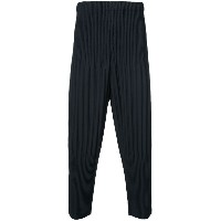 Homme Plissé Issey Miyake - cropped trousers - unisex - ポリエステル - 1