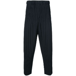 Homme Plissé Issey Miyake - cropped trousers - unisex - ポリエステル - 3
