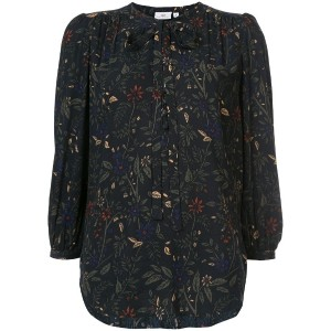 Ag Jeans - floral print blouse - women - シルク - XS