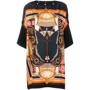 Givenchy - プリント ワンピース - women - シルク - S