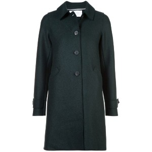 Harris Wharf London - single breasted coat - women - バージンウール - 42
