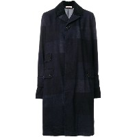 Marni - checked single breasted coat - women - コットン - 36