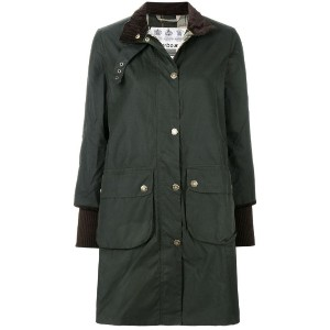Barbour - cropped sleeved coat - women - コットン/ポリエステル - 12