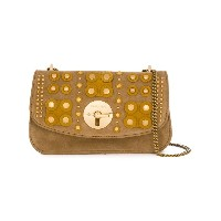 See By Chloé - baguette shoulder bag with embellishment - women - コットン/スエード - ワンサイズ