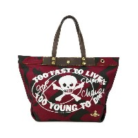 Vivienne Westwood Anglomania - プリント トートバッグ - unisex - レザー/Canvas - ワンサイズ