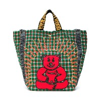 Vivienne Westwood Anglomania - チェック トートバッグ - unisex - Canvas - ワンサイズ