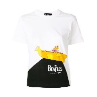 Comme Des Garçons Play - The Beatles プリント Tシャツ - women - コットン - XS