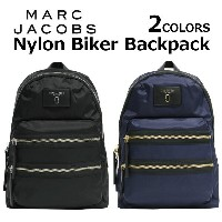 MARC JACOBS マークジェイコブス Nylon Biker Backpack ナイロン バイカー バックパックリュック リュックサック バッグ カジュアル レディース プレゼント ギフト...