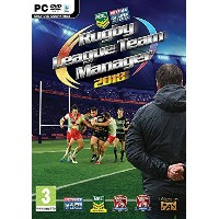 Rugby League Team Manager 2018 (PC DVD/Mac) (輸入版)