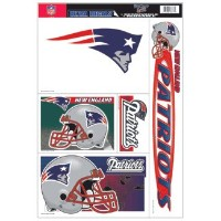 新しいEngland Patriots Static Cling転写シート* SALE *
