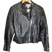 LEWIS LEATHERS GT Monza 80s VINTAGE LEATHER JACKET BLACK ルイスレザー GTモンザ レザージャケット ライダース 黒 革ジャン(皮ジャン)...
