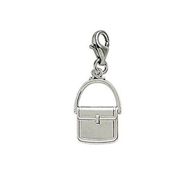Purse Charm with Lobster Claw Clasp、チャームブレスレットとネックレス用