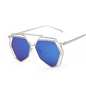 [アメリカ直送] VeBrellen Vintage Polygon Frame GlassesDriving Sun Glasses Polarized Sunglasses