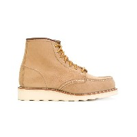 Red Wing Shoes - レースアップ ブーツ - women - カーフレザー/レザー/rubber - 8