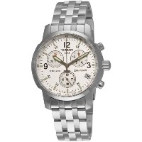 [並行輸入] Tissot(ティソ)Men's T17158632 T-Sport PRC200 Chronograph Stainless Steel Silver Dial Watch