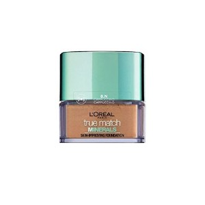 L'Oreal True Match Minerals Skin-Improving Foundation 8.N - Cappuccino 10 g [並行輸入品]