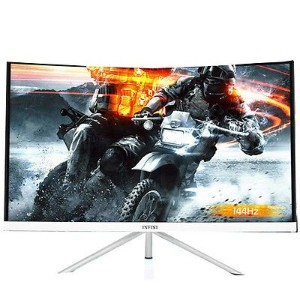 "INFINI UG-246 144Hz FHD 1920 x 1080 1ms Free Sync 24"" Curved Gaming Monitor 普通ピクセル [並行輸入品]"
