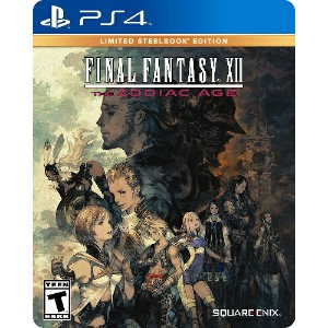 PS4 Final Fantasy XII The Zodiac Age Limited Steelbook Edition(ファイナルファンタジーXII-ゾディアックエイジリミテッドスティールブック...