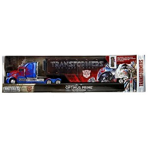"JADA TOYS 1:64SCALE TRANSFORMERS HAULER ""OPTIMUS PRIME (WESTERN STAR 5700 XE PHANTOM) ""トランスフォーマー..."
