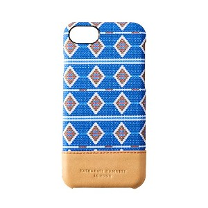 Simplism [KATHARINE HAMNETT LONDON] iPhone 7 ケース アフリカンブルー TRKH-NNWIP164-ABLNNM