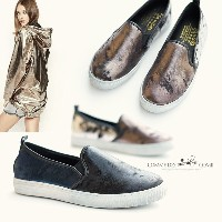 JJ393-103[CDC]ヨ゛Slip-on F/W New Style up! / Stiletto Slip on / Sneakers Slipon / Snake / /comme des...