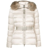 Moncler - Tatie padded jacket - women - フォックスファー/ポリエステル/Polyimide - 0