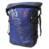 Gmc-grb-0006-1-2 BLUE (グラミッチ) GRAMICCI Roll Top Back Pack Small GRB-0006 リュック 鞄 バックパック gmc-grb-0006