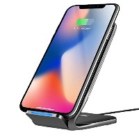 LeHome Qi ワイヤレス充電器 18W 二つのコイル ワイヤレス急速充電器 Quick Charge 2.0 ワイヤレスチャージャー 無接点充電パッド Wireless Charger for...
