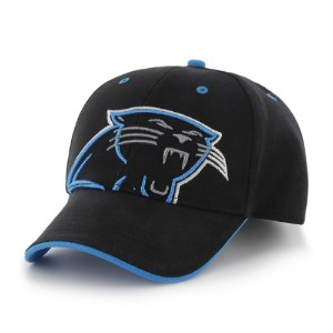 NFL Carolina Panthers Toddler 's Creatureキャップ、ブラック