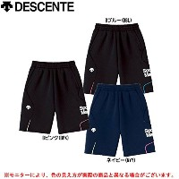 デサント(DESCENTE) Quilt Sweat Half Pants BBL S