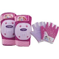 Bell Disney Princess Protective Gear Pad and Glove by Bell