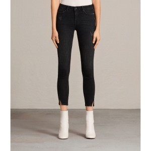 MAST TWISTED JEANS (Washed Black)
