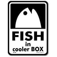 FS-187/釣りステッカー/FISH in cooler BOX-03