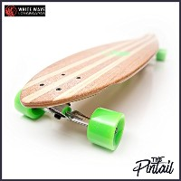 WHITE WAVE ホワイト ウェーブ ロングスケートボード PINTAIL 40インチ 日本正規品