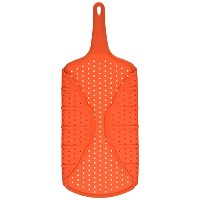 Silicone Splatter Shield Foldable Pan Cover Squish Collapsible Grease Screen by Squish