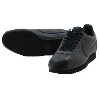 NIKE CLASSIC CORTEZ LEATHERナイキ クラシック コルテッツ レザーBLACK/BLACK-ANTHRACITE