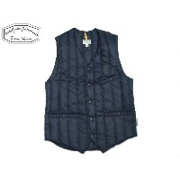ROCKY MOUNTAIN FEATHERBED(ロッキーマウンテンフェザーベッド)/#200-172-12 SIX MONTH V-NECK (LO NECK)VEST/navy