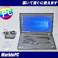 中古パソコン Lenovo ThinkPad L530/TYPE:2481-1F3/Corei3-3120M 2.5GHz/MEM4GB/HDD320GB/DVDマルチ/WLAN/Win10Home6...