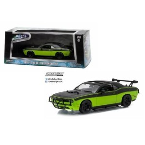 "GREENLIGHT 1:43SCALE ""FAST&FURIOUS 7"" ""LETTY'S DODGE CHALLENGER R/T""(GREEN/BLACK) グリーンライト 1:43スケール ..."