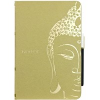 OZAKI O coat Wisdom Buddhist Scripture for iPad mini Khaki