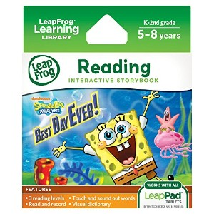 LeapFrog LeapPad Ultra eBook: Spongebob Squarepants Best Day Ever!
