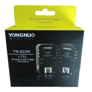 Yongnuo YN-622N Wireless TTL Flash Trigger For Nikon TTLワイヤレスフラッシュトリガー