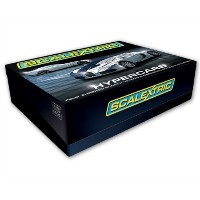 Scalextric C3169A Hypercars (Chrome Mercedes SLR & Bugatti Veyron) 1:32 Scale Limited Edition Slot...